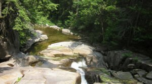 This Half-Mile Trail In Maine Leads To A Waterfall And A Swimming Hole
