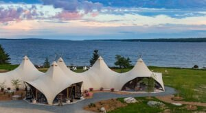 Under Canvas Acadia On The Downeast Coast In Maine Lets You Glamp In Style
