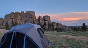 Wyoming's Vedauwoo Campground Feels Like Something From Another Planet