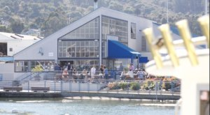 Fish. Is A Waterfront Seafood Market And Restaurant In The Coastal Town Of Sausalito In Northern California