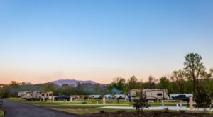 Complete With A Natural Lazy River And Mountain Views, Pigeon Forge Landing RV Resort Is A Tennessee Treasure