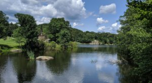 Explore A Rock Cave And Hike Past A Lake On This Moderate New Jersey Trail