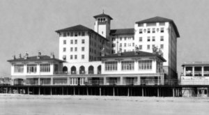 This 98-Year-Old Beachfront Hotel In New Jersey Has A Colorful Past – And Maybe A Ghost