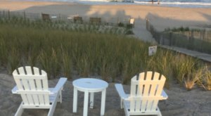 You'll Get Your Own Private Beach When You Stay At This Charming New Jersey Cottage