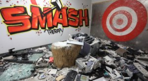 Everything's Meant To Be Broken At Smash Therapy In New York