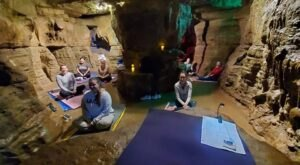 Visit Olentangy Caverns In Ohio For A One-Of-A-Kind Cave Yoga Class You Won't Soon Forget