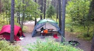Visit Apgar Campground, The Massive Family Campground In Montana That's The Size Of A Small Town