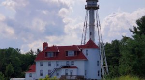 Pedal Past Dramatic Sand Dunes To A Picture-Perfect Lighthouse On The Rawley Point Recreational Trail In Wisconsin