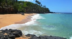 This Hidden Beach Along Kaua'i's Coast Is The Best Place To Find Seashells