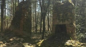 Discover Historic Ruins Of An Old Stone Dwelling Deep In The Forest On The Beech Tree Loop Trail In South Carolina