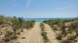 Follow A Sandy Path To The Waterfront When You Visit Illinois Beach State Park In Illinois