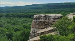 This 7-Mile Trail In New York Leads To An Amazing Overlook And A Lake