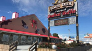 Dine With Mermaids At The Pirate's Table Calabash Seafood Buffet In South Carolina