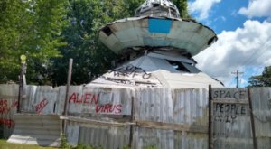 The UFO Welcome Center In South Carolina Just Might Be The Strangest Roadside Attraction Yet
