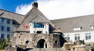 The Timberline Lodge Was Recently Called The Most Legendary Place To Stay In Oregon