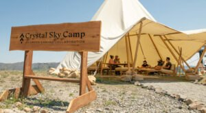 Washington's New Glampground Getaway, Crystal Sky Camp, Is Truly One Of A Kind