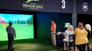 There's A PGA-Approved Virtual Golf Center Where You Can Play Courses From All Over The World Without Leaving Connecticut