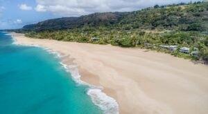 Hunt For Sea Glass On The Beautiful Ke Iki Beach In Hawaii