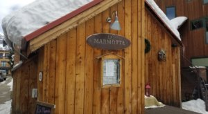 You Can Dine In An 1893 Icehouse At The Historic La Marmotte In Colorado