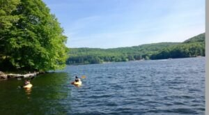 The Best Kayaking Lake In Connecticut Is One You May Never Have Heard Of