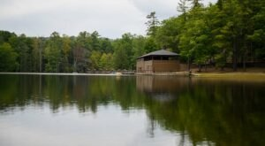 Enjoy Lunch On The Lake At The Little Beaver State Park Picnic Area Near Beckley, West Virginia