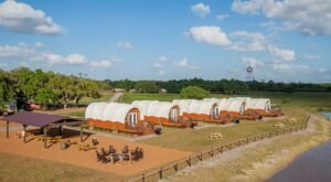 Spend The Night Glamping In A New Covered Wagon At Westgate River Ranch Resort In Florida