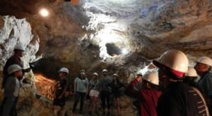 Explore An Old Silver Mine 100-Feet Below The Surface On This Underground Walking Tour In Arizona