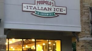 The Philadelphia-Style Ice Desserts From Puopolo's Italian Ice & Creamery In Oklahoma Is Worth A Trip From Any Corner Of The State