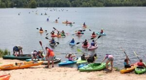 The Best Kayaking Lake In Oklahoma Is One You May Never Have Heard Of