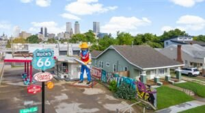Airbnb's Buck Atom's Crash Pad Is One Of The Quirkiest Roadside Attractions In Oklahoma