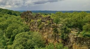 Take A Winding Staircase Up Pinnacle Rock For A View Of West Virginia That Stretches For Miles