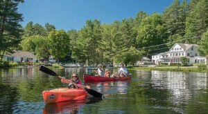 The Best Kayaking Lake In New Hampshire Is One You May Never Have Heard Of