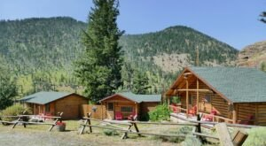 Creekside Lodge And Cabins Is A Waterfront Mountain Retreat In The Heart Of Wyoming