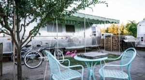 Arizona's New Glampground Getaway, The Cozy Peach, Is Truly One Of A Kind