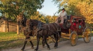Visit The Only Working Stagecoach Stop Left On The Santa Fe Trail For The Ultimate Day Trip In Kanas