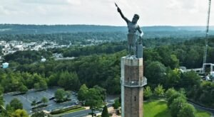 The World's Largest Cast-Iron Statue Is Right Here In Alabama And You'll Want To Visit