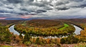 The Hidden Road In Maryland That Will Lead You To A Magnificent Overlook
