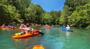 The Best Kayaking Creek In Alabama Is One You May Never Have Heard Of
