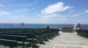 Overlooking The Gulf Of Maine, This Picturesque Chapel Is A Peaceful Place For Fresh Air