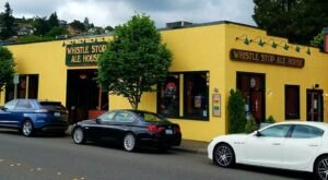 Visit Washington's Whistle Stop Ale House For A Beer And A Blast From The Past