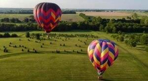 Soar Above Kansas City On a Delightful Hot Air Balloon Ride In Kansas