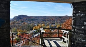 This Scenic Byway Stop In New York Spot Offers Incredible Views Of The Delaware River