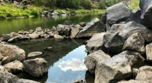 Enjoy A Short 0.3-Mile Hike To Gorgeous Hot Springs In New Mexico