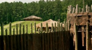 Visit This Ancient Native American Ceremonial Mound To See The Only One Of Its Kind In North Carolina