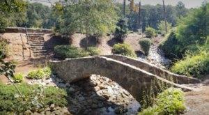 South Carolina's Rock Garden And Grotto, Rock Quarry Garden Is A Work Of Art