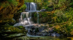The Plunge Pool At Little Bradley Falls In North Carolina Is Perfect For A Summertime Swim