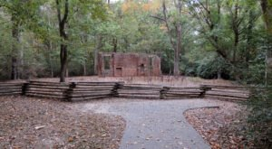 A Mysterious Woodland Trail In Mississippi Will Take You To The Original Elizabeth Female Academy Ruins