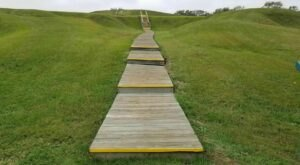 You Can Walk Through A World Heritage Site At Poverty Point In Louisiana