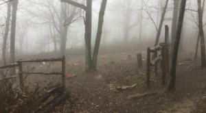 The Story Behind This Ghost Town Cemetery In Arkansas Will Chill You To The Bone