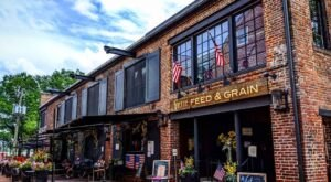Virtue Feed And Grain In Virginia Was Recently Recognized As One Of The Best Bourbon Bars In The Country